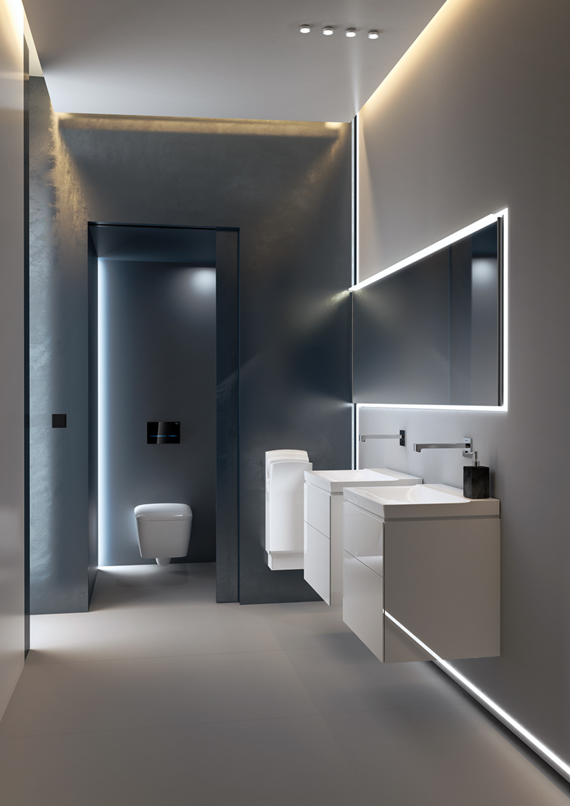 Barrier Free Bathrooms And Wcs Geberit North America