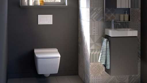 Geberit In Wall Flush Toilet Tank