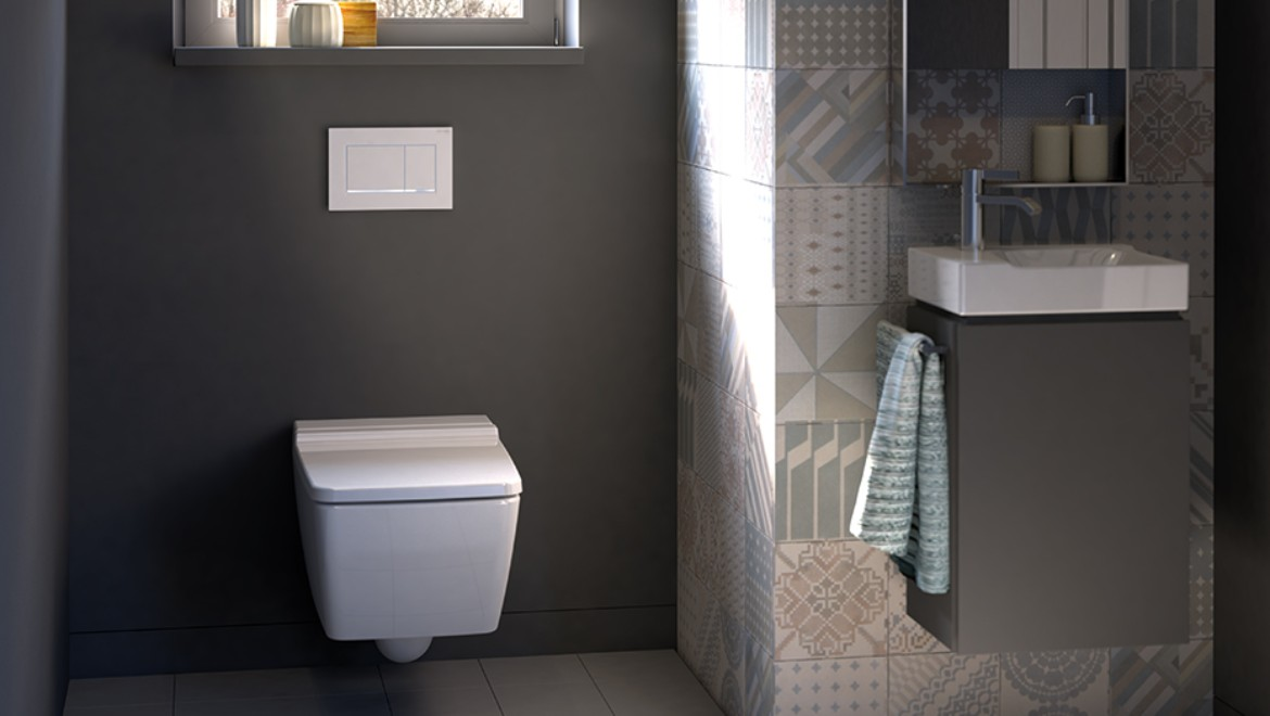... Geberit In Wall Flush Toilet Tank System For Wall Hung Toilet  (concealed Cistern ...