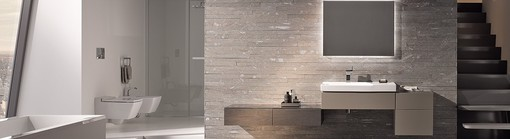 Geberit in-wall systems in a luxury bathroom
