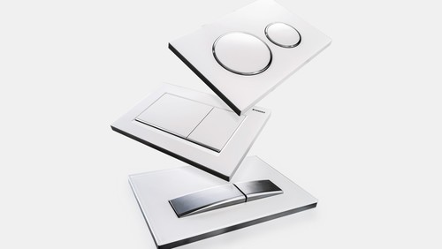 Geberit actuator plates of the Sigma series