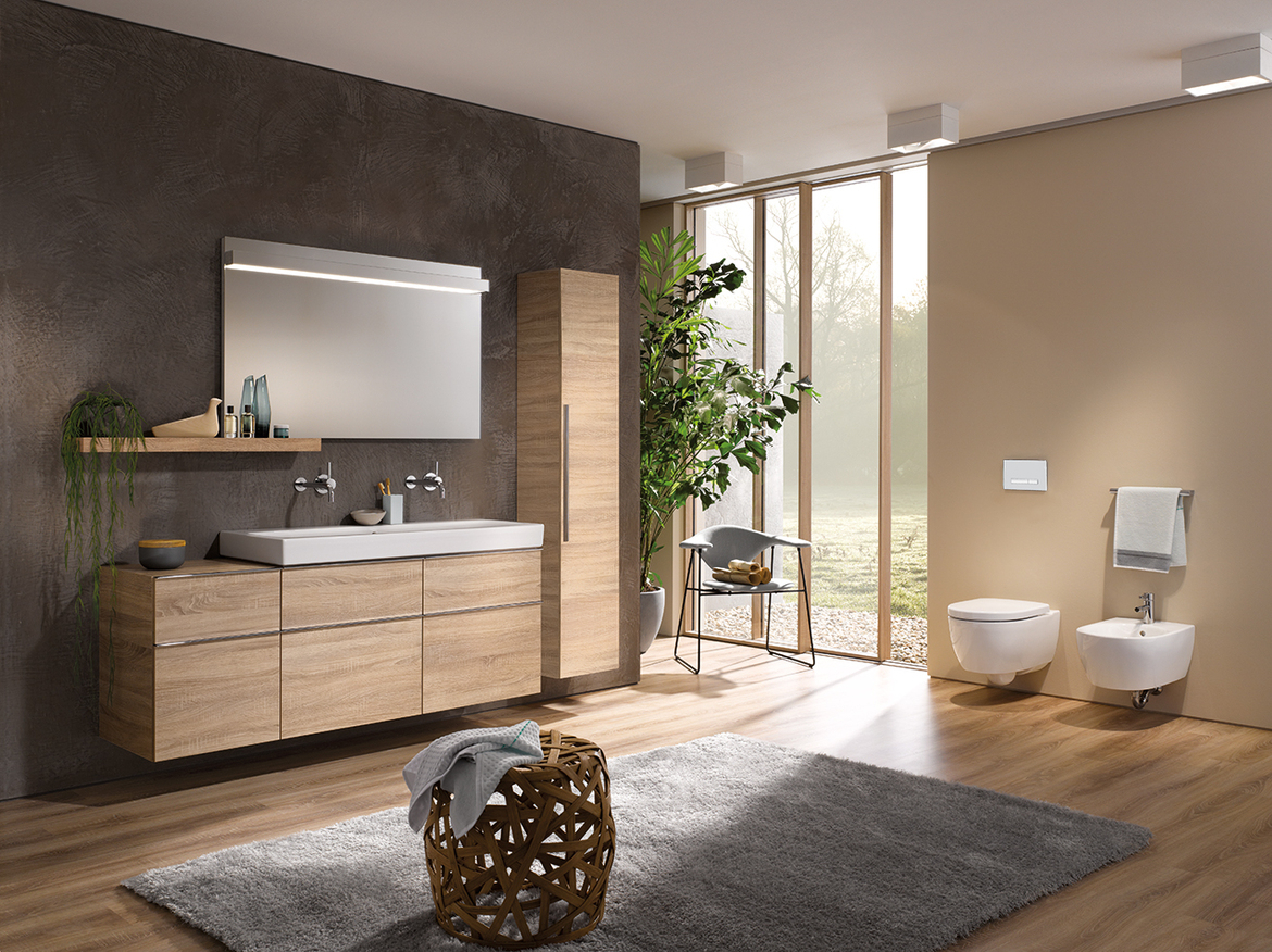 In-wall system for wall-hung lavatory sink  Geberit North America