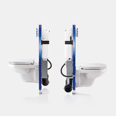 Geberit in-wall toilet systems for barrier-free bathrooms