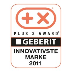 Plus X Award for Geberit as most innovative Brand