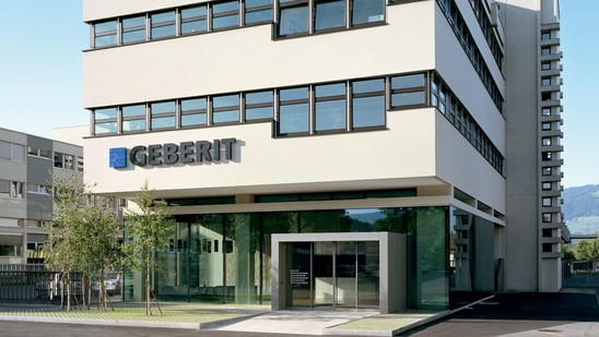 Geberit headquarters in Rapperswil-Jona, Switzerland