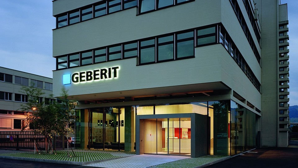 Geberit headquarters in Jona, Switzerland