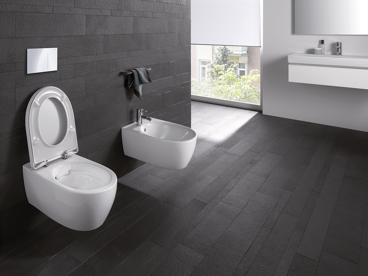 Geberit in-wall systems for wall-hung bidet toilets ...