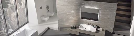 Geberit in-wall systems for toilet and bidet