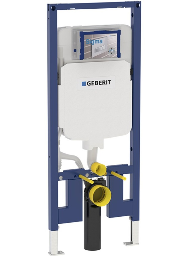 Geberit in wall flush toilet tank systems for wall hung for Geberit products