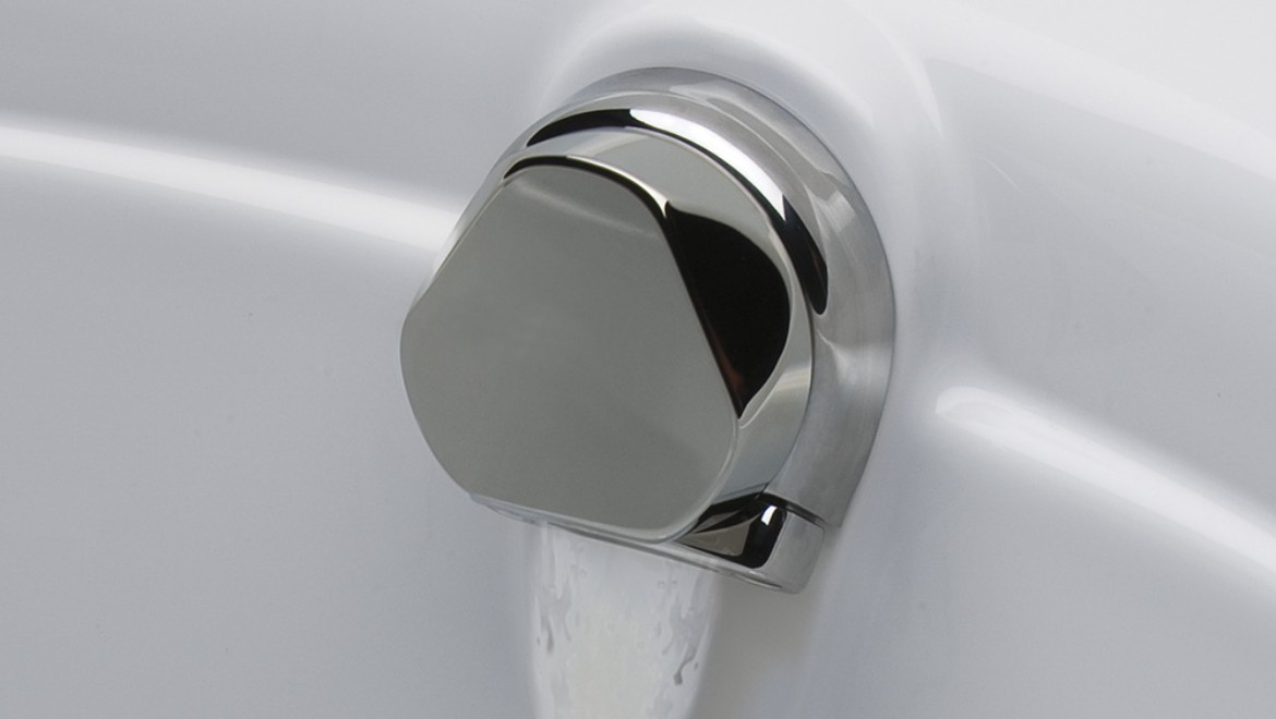 ... Tub Cable Drain | Geberit Cascading Tub Filler BWO