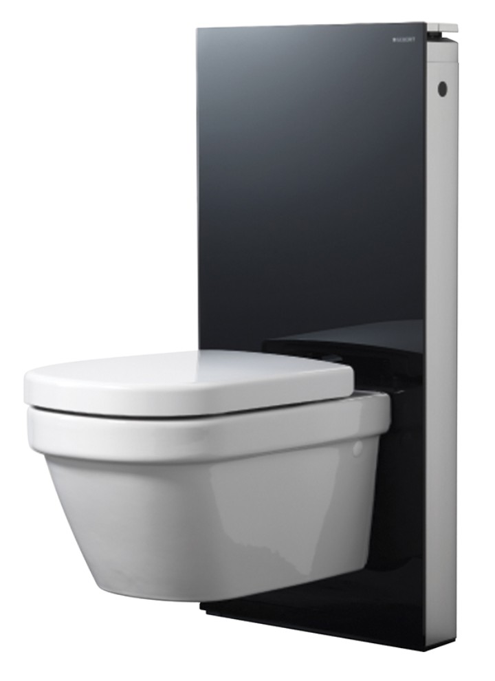 Monolith sanitary module for wallmounted toilet Geberit North America